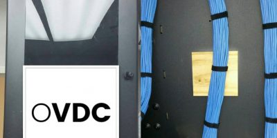 OVDC network cabling project in Cleveland Ohio